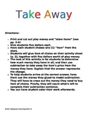 Kindergarten Take Away Activity Common Core Aligned