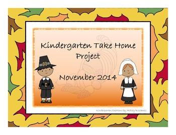 Kindergarten Take Home Project-November