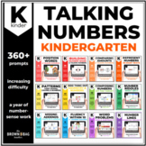 Kindergarten Talking Numbers Prompts for Distance Learning