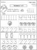 Kindergarten Tarea de Matemáticas en Inglés & Español - 1st Quarter