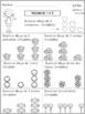 Kindergarten Tarea de Matemáticas en Inglés & Español - Free Sample