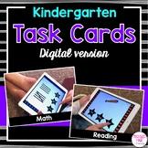 Kindergarten Task Cards (digital version)