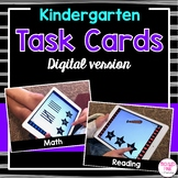 Digital Task Cards for Kindergarten - Distance Learning