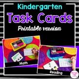 Kindergarten Task Cards (printable version)