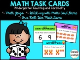 Kindergarten Task Cards Counting and Cardinality
