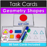Kindergarten Task Cards - Geometry Shapes