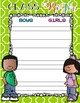 Kindergarten Teacher Binder - Student Information