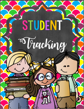 Kindergarten Teacher Binder - Student Tracking