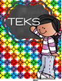 Kindergarten Teacher Binder - Texas TEKS