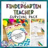 Kindergarten Teacher Guide - Kindergarten Survival