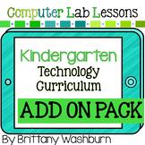 Kindergarten Technology Curriculum Add on Pack