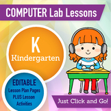 Kindergarten Technology Lesson Plans and Activities 1 Year Subscription