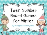 Teen Numbers Board Games for Winter