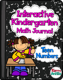 Interactive Kindergarten Math Journal: Teen Numbers