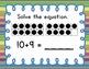 Kindergarten Teen Number Projectable Exit Tickets (K.NBT.1)
