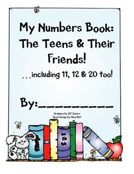Kindergarten Teen Numbers Book (and their friends too!) {11-20}