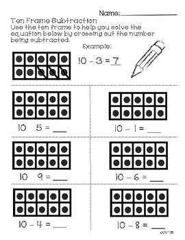 Ten Frame Math