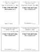 Kindergarten Tens and Ones Place Value Math Journal Prompts