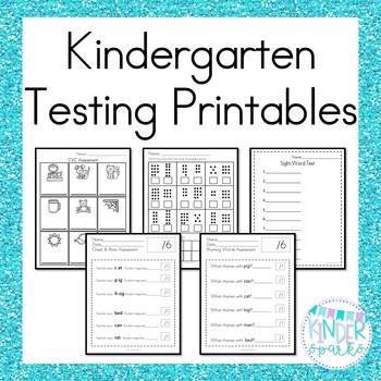 Kindergarten Testing