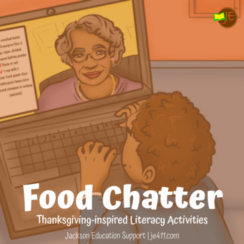 Kindergarten Thanksgiving Comprehension Lesson (Passage & Answer Sheet Included)