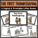 Kindergarten Thanksgiving Digital and Printable Emergent R