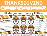 Kindergarten Thanksgiving Literacy Activities