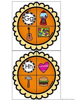 Kindergarten Thanksgiving Literacy Centers- 7 November Reading Centers