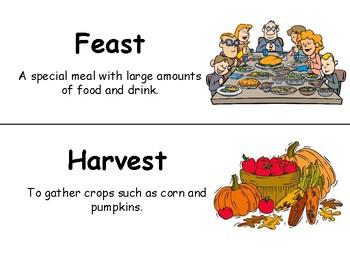 Thanksgiving Worksheets/Unit