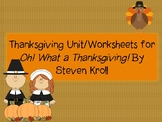 Thanksgiving Worksheets/Unit
