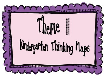 Kindergarten, Theme 11 Literacy By Design Graphic Organizers