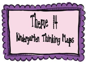 Kindergarten, Theme 14 Literacy By Design Graphic Organizers