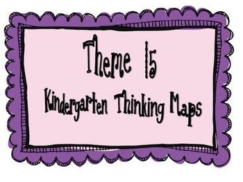 Kindergarten, Theme 15 Literacy By Design Graphic Organizers