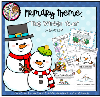 Kindergarten STEM Theme - The Winter Sun