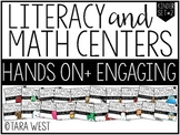 Kindergarten Themed Literacy & Math Centers for the Year: