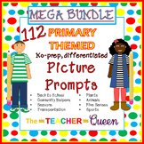 112 Primary Themed Picture Prompts for Writing MEGA BUNDLE