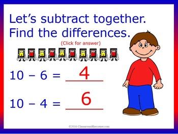 "Kindergarten ""Think Out Loud"" Interactive Math"