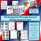 Kindergarten Through Second Grade America Unit #DistanceLe