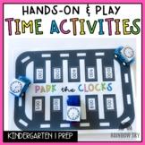 Kindergarten Time Math centres   Time play activities