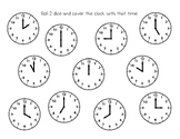 Kindergarten Time Roll and Cover