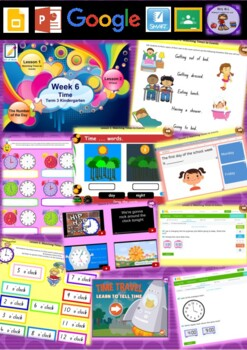 Kindergarten Time Smart Notebook and Unit of Work Bundle 2