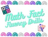 Kindergarten Timed Tests-Beginning Addition