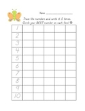 Kindergarten Tracing and Writing Letters, Numbers, Words - D'Nealian and Print