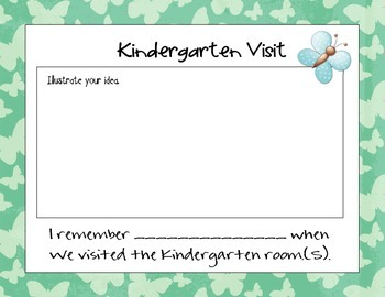 Kindergarten Transition Book and Bookmarks