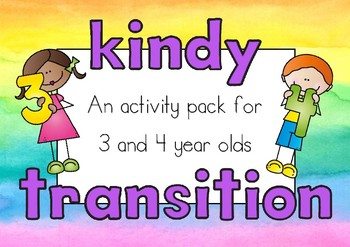 Kindergarten Transition Booklet