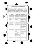 Kindergarten Transition Note