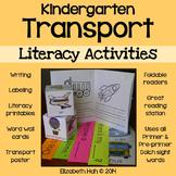 Kindergarten Transport: Literacy Activities