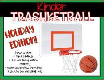 Kindergarten Trashketball: December Edition