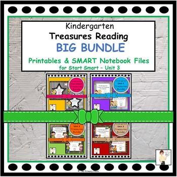 Kindergarten Treasures Reading BIG Bundle (Smart Start - Unit 3)