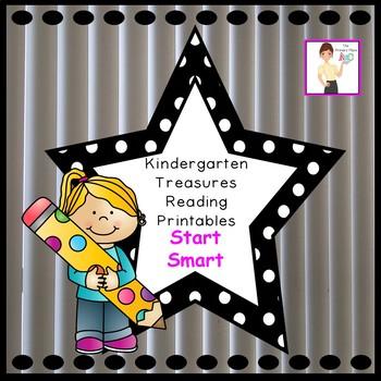 Kindergarten Treasures Reading Start Smart Printables