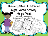 Treasures Kindergarten Sight Word Activities Mega-Pack